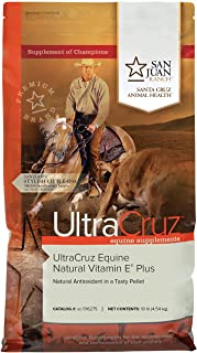 UltraCruz - sc-516275 Equine Natural Vitamin E Plus Supplement for Horses, 10 lb, Pellet (66 Day Supply)