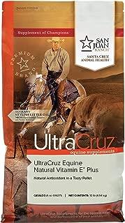 UltraCruz Equine Natural Vitamin E Plus Supplement for Horses, 10 lb, Pellet (66 Day Supply)