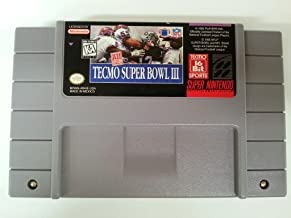 tecmo super bowl snes