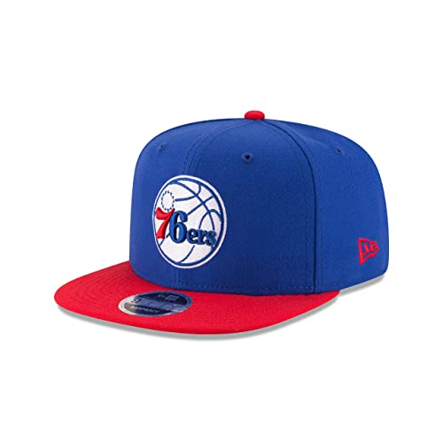New Era NBA Philadelphia 76ers Men s 9Fifty Original Fit 2Tone Snapback  Cap 92d98683368f