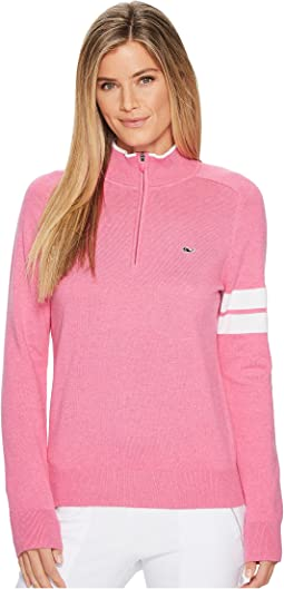 Vineyard Vines Golf - Cotton 1/4 Zip Pullover