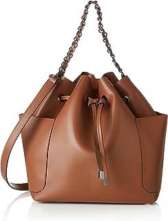 Pieces Pcfreja Bag Kadın Askılı Çanta, Kahverengi, 13X32X30 Cm (B X H X T)