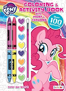 My Little Pony Pinkie Pie 128-Page Coloring Book with Paints and Crayons 47527