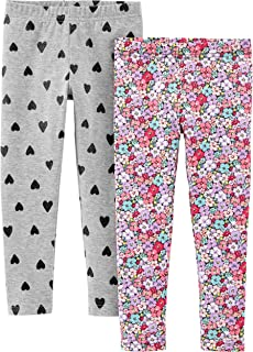 Girls' 2-Pack Leggings
