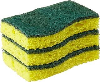 Scotch-Brite Heavy Duty Scrub Sponge, Green, Pack of 3, HD-3