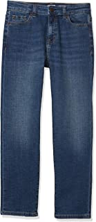 Amazon Essentials Boys' Slim-Fit Jeans, Everest Medium Wash, 8S US