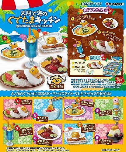 más vendido Box set completo 8 paquetes Figura miniatura miniatura miniatura Gudetama Mar de cocina por Re-Ment de Japón  solo cómpralo