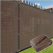 PENGFEI schaduwdoek Sunblock schaduwnet, gecodeerde verdikte zonnebrandnetten, buiten balkon zwembad onderdak, privacy hek...