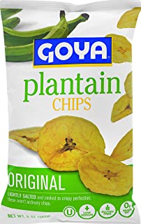 Goya Plantain Chips, Original Lightly Salted, 5 Ounce