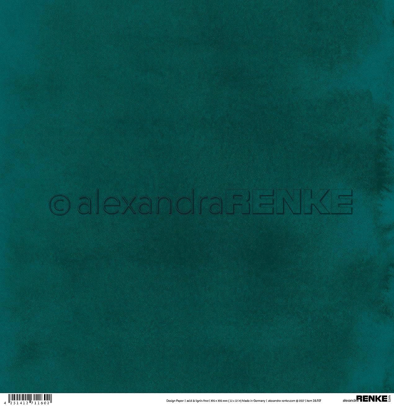 Alexandra Renke Mini Watercolor Fir Green Winter Paper 12
