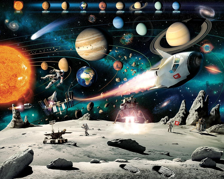 Walltastic Space Adventure Wall Mural
