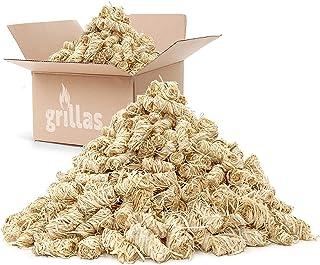 grillas bio-haard aanmaakblokjes 10 kg van houtvezel, gedrenkt in was   kolenstarter   barbecue aanmaakblokjes   was aanma...