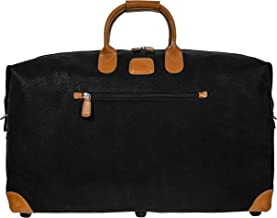 Bric's Life 22 Inch Cargo Overnight Duffle Bag Weekend Duffel, Black