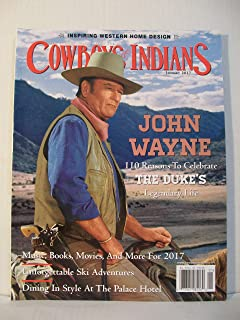 Cowboys & Indians Magazine (January, 2017) John Wayne Cover