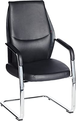 Stellar 00HT758D06 Visitor Chair (Black)