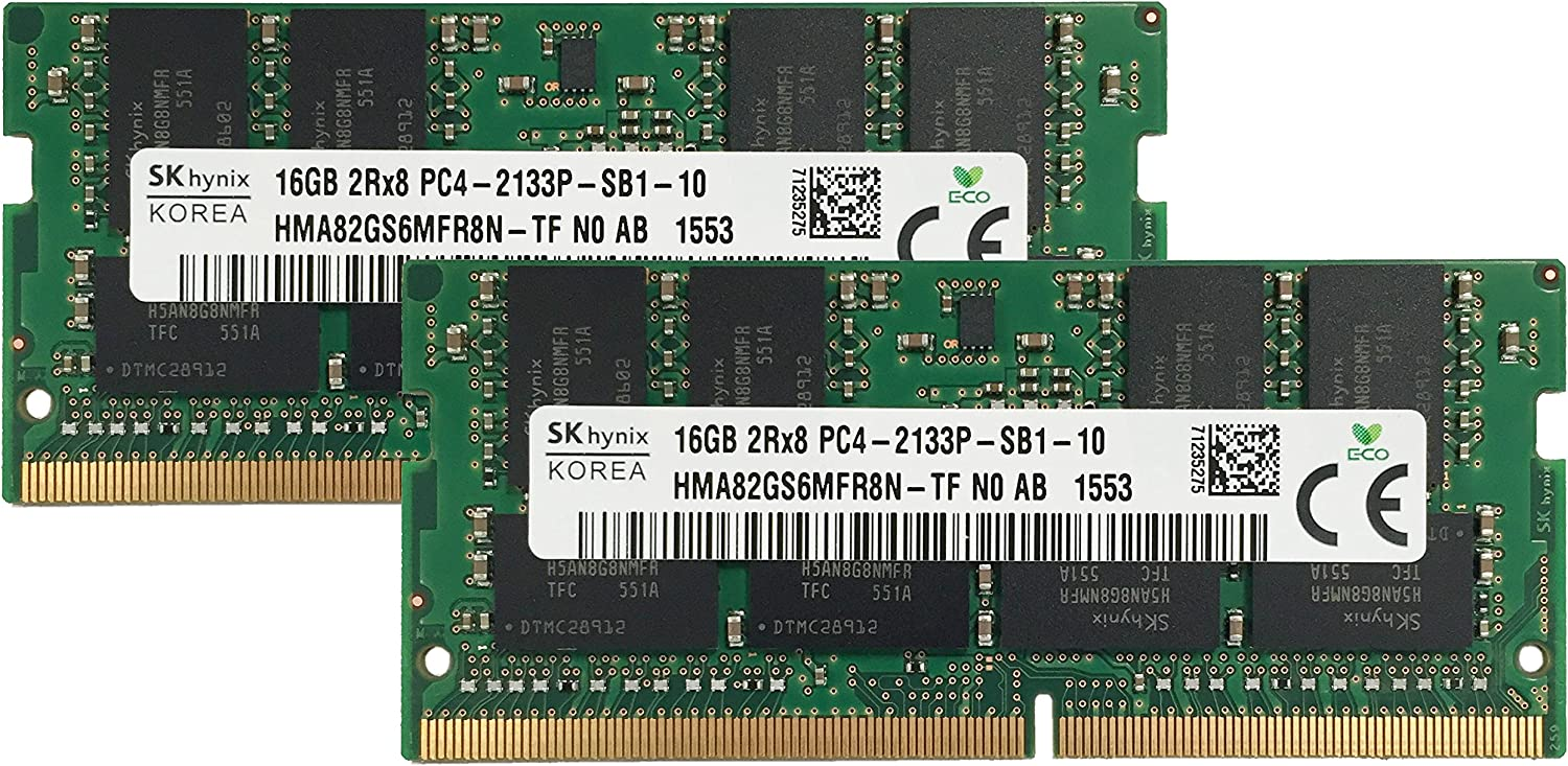 Hynix Mail order cheap Original 32GB 2x16GB Laptop Compatible fo Max 61% OFF Upgrade Memory