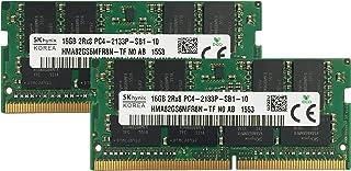 Hynix original 32GB ( 2x 16gb )ノートPCメモリアップグレードfor Acer Aspire VX 15vx5–591G ddr42133pc4–17000SODIMM 2rx8cl15...
