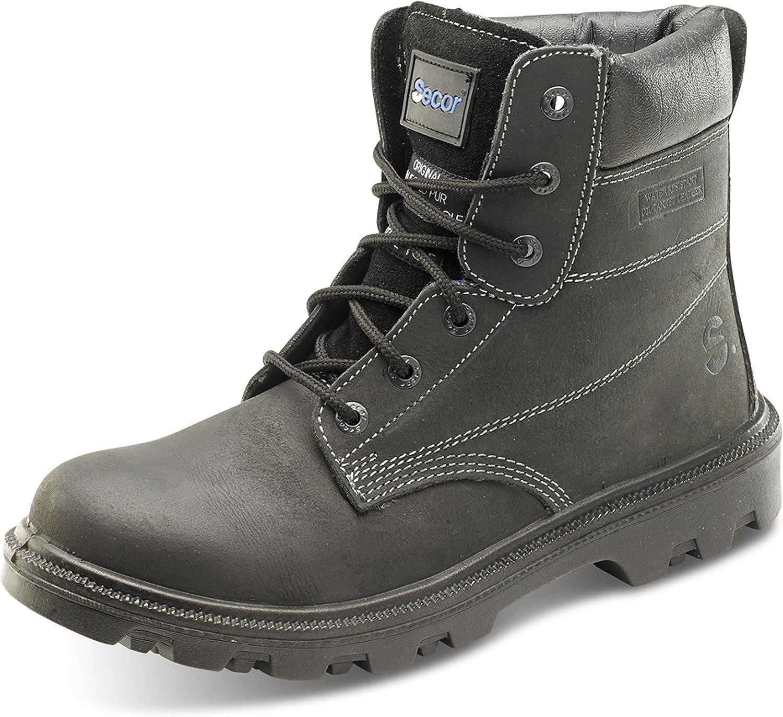 95fb78404e7 Toe Steel Leather Waxy 6 S3 Black Virdus Secor Sherpa Cap Boots ...