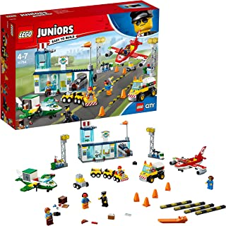 LEGO Juniors City Central Airport 10764 Playset Toy