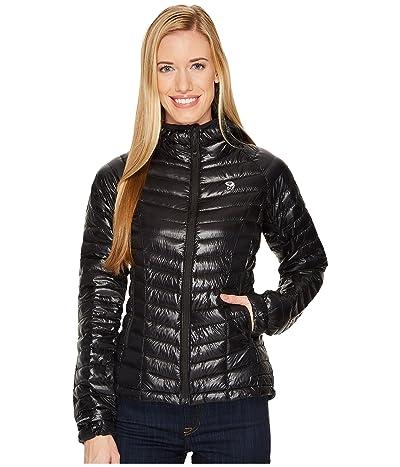 Mountain Hardwear Ghost Whisperertm Down Hooded Jacket (Black 1) Women