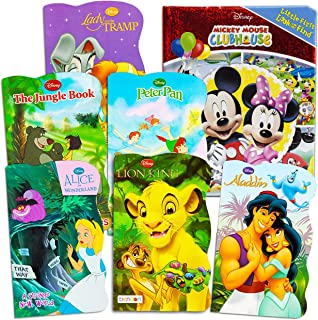 Disney My First Board Books Set for Toddlers 1-3 ~ 5 Disney Educational Books with Mickey Mouse, Minnie Mouse and More (Lo...