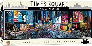 Master Pieces Cityscape - Times Square 1000pc Panoramic Puzzle
