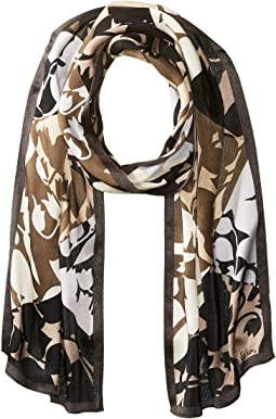 Echo Design - Geo Trellis Silk Oblong Scarf