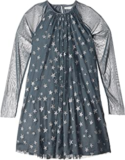 Misty Star Printed Tulle Dress (Toddler/Little Kids/Big Kids)