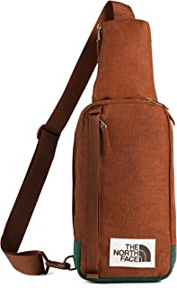 The North Face Field Bag, Picante Red Dark Heather/Night Green Light Heather, OS