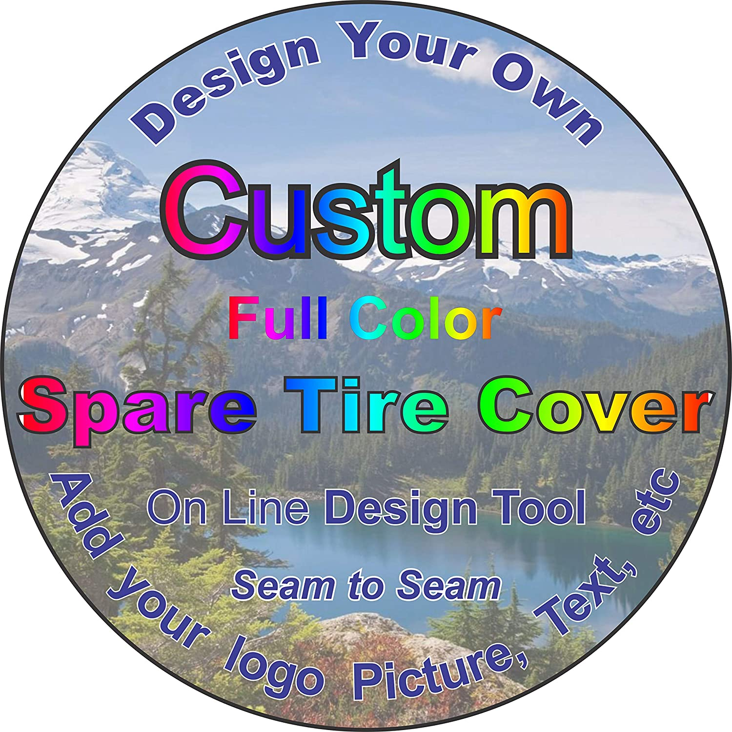 TIRE COVER CENTRAL Custom List price Very popular Personalized tire Cover Select Spare