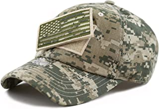Cotton Low Profile Tactical Operator USA Flag Patch Military Army Mesh Cap