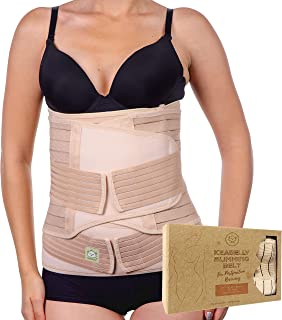 KeaBabies 3 in 1 Postpartum Belly Support Recovery Wrap - Belly Band for Postnatal, Pregnancy, Maternity - Girdles for Wom...