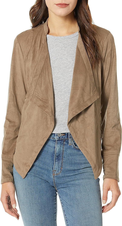 It is very popular JACK Women's Big City Nights Front Suede Faux Jacket Drape Dallas Mall
