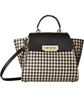 ZAC Zac Posen Eartha Iconic Top-Handle Gingham
