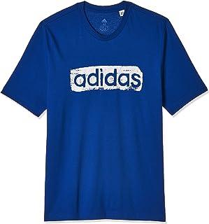adidas Mens Brushstroke V4 Tee T-Shirt
