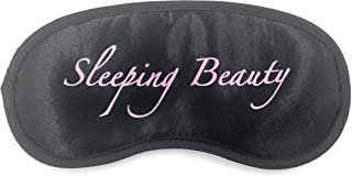 24x7 eMall Message Eye Shade Blindfold Eyes Cover Sleeping Travel Rest Patch Blinder Relax , Complete black-out Design, snooze , slumber , hibernate ~ Super Soft & Comfortable For Proper Sleep (Sleeping Beauty)