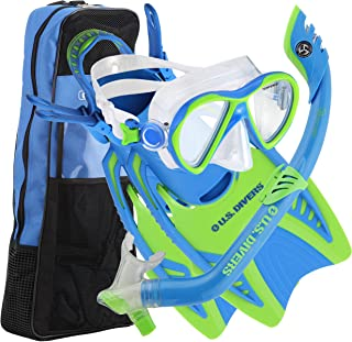 U.S. Divers Youth Flare Junior Silicone Snorkeling Set