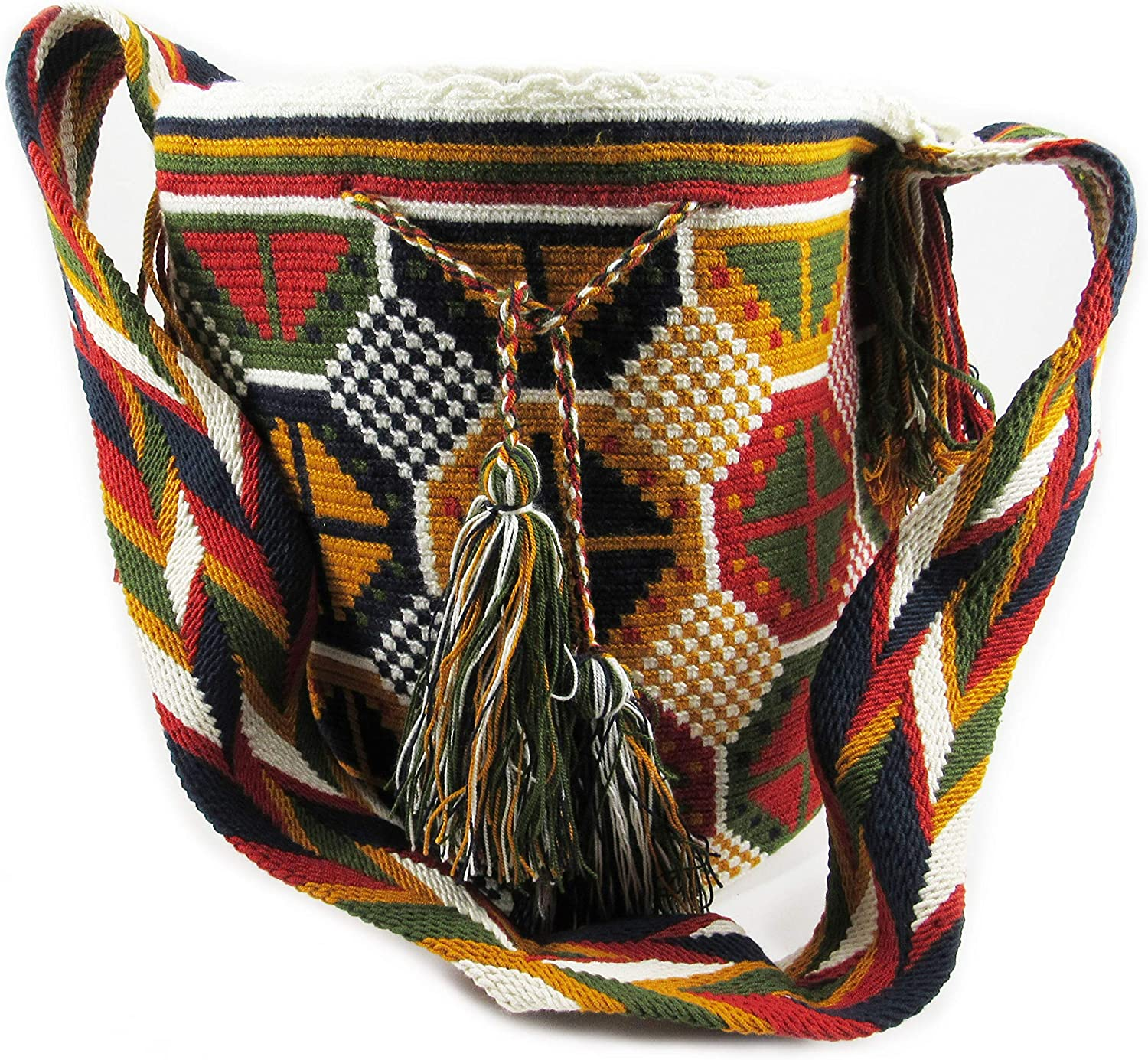 BOHEMIAN HANDBAG FOR WOMEN, BOHO WAYUU SHOULDER VINTAGE BACKPACK BY MACHU PICCHU STORE
