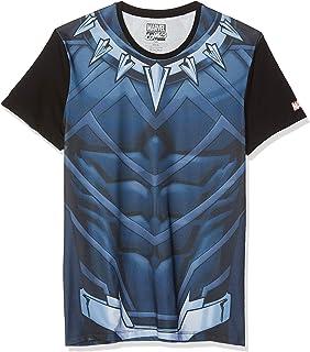 Meroncourt Marvel Comics Black Panther Sublimation T-Shirt Camiseta para Hombre