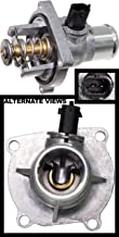 APDTY 013932 Upper Thermostat w/Housing, Seals & CTS Coolant Temperature Temp Sensor 2009-2016 Chevrolet Aveo 2011-2016 Cruze 2012-2016 Sonic 2009-2010 Pontiac G3 (Replaces 55597008, 131-183)