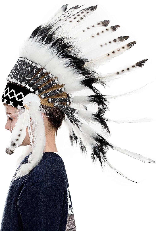 Novum Crafts Kids Feather Headdress Many popular brands American Ins Native Max 87% OFF Indian