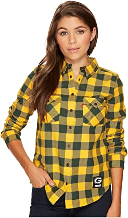 Levi's® Womens - Packers Buffalo Western