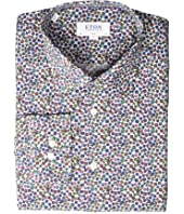 Eton - Slim Fit Floral Print Button Down Shirt