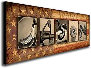 Best hidden gun wall art Reviews