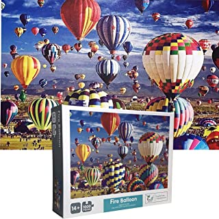 The Jigsaw Puzzlery Fire Balloon Jigsaw Puzzle - 1000 Piece Jigsaw Puzzles for Adults