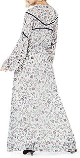 Marchio Amazon - find. Vestito Floreale Semitrasparente Donna