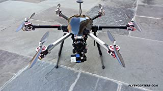 FlyByCopters Thermal Imaging 640 4K UHD Hexacopter Drone With AutoPilot