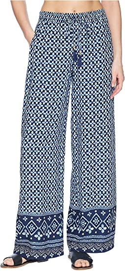 Tommy Bahama Indigo Cowrie Beach Pant Cover-Up