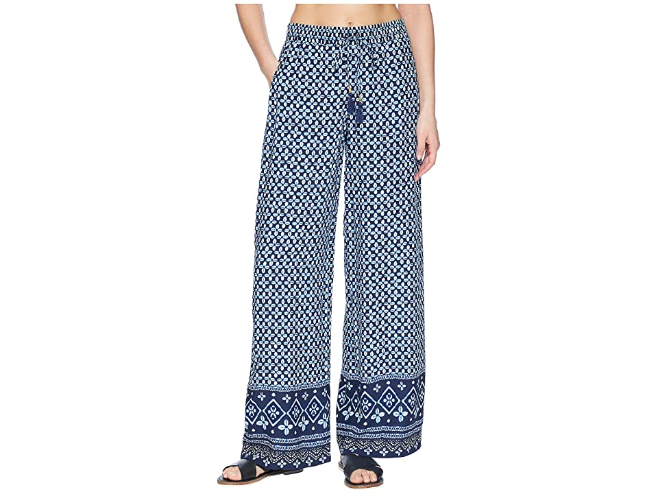 Tommy Bahama Indigo Cowrie Beach Pant Cover-Up (Mare Navy) Women