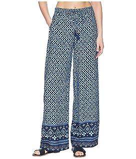 Indigo Cowrie Beach Pant Cover-Up